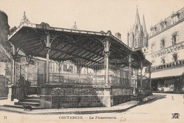 + CPA 50 Coutances - La Poissonnerie + - Coutances