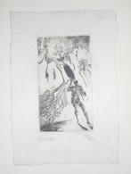 Rare Ex-libris Moderne XXème Illustré -  Allemagne - REHN - Ex-libris