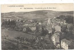 LA LOUVESC . VUE GENERALE PRISE DU MONT BESSET . ECRITE AU VERSO - La Louvesc