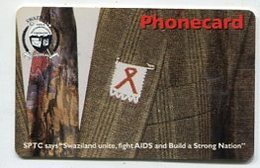 TK32560 SWASILAND - Chip AIDS / HIV - Swaziland