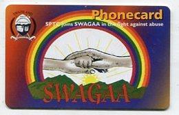 TK32561 SWASILAND - Chip Swagaa - Swaziland