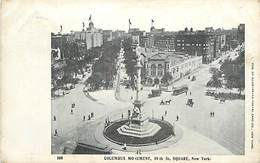 PIE-R-18-1753 : NEW-YORK CITY. COLUBUS MONUMENT 59 TH ST. SQUARE - Brooklyn