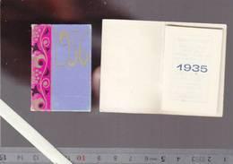 Petit Almanach 1935 Et 1936  - Lot De 2 - Publicité Charcuterie Babin à Niort Deux-sevres - 4 X 5.5 Cm - Calendars