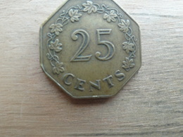 Malte  25  Cents  1975  Km 29 - Malta