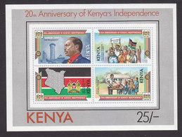 Kenya, Scott #287, Mint Never Hinged, President Daniel Arap Moi, Issued 1983 - Kenya (1963-...)