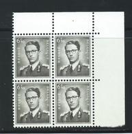 TB: 1069A Neufs Sans Charniere En Bloc De 4 -  Année 1959 - - Belgique