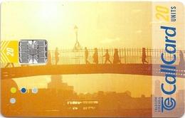 Ireland - Eircom - Beautiful Ireland - Half-Penny Bridge - 20Units, 06.1999, 87.500ex, Used - Ireland
