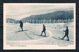 (2391) AK Fichtelgebirge - Schneeschuläufer - Ohne Zuordnung