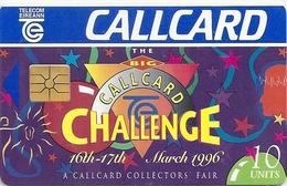 Ireland - Eircom - Big Challenge Callcard Fair '96 - 10Units, 03.1996, 8.000ex, Used - Ireland