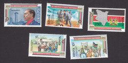 Kenya, Scott #282-285, Mint Hinged, President Daniel Arap Moi, Issued 1983 - Kenya (1963-...)