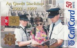 Ireland - Eircom - An Garda Siochana 1922 - 1997 - 50Units, 11.1997, 50.000ex, Used - Ireland