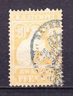 Koenigreich Bayern, Stempelmarke, 20 Pfennig (49733) - Gebührenstempel, Impoststempel