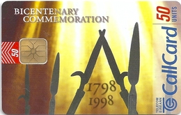 Ireland - Eircom - 1798-1998 Bicentenary Commem. - 50Units, 10.1998, 50.000ex, Mint (check Photos!) - Ireland