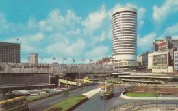 Doppeldecker,Birmingham,The Rotunda,gelaufen - Bus & Autocars