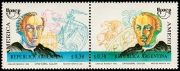 ~~~ Argentina 1992 - UPAEP America Good Set - Mi. 2145/2146 ** MNH OG ~~~ - Argentinië