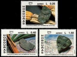 ~~~ Honduras 1991 - UPAEP Archeology  Good Set - Mi. 1119/1120 ** MNH OG ~~~ - Honduras