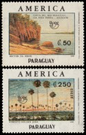 ~~~ Paraguay 1990 - UPAEP Costa Del Rio - Rare Set ! - Mi. 4510/4511 ** MNH OG ~~~ - Paraguay