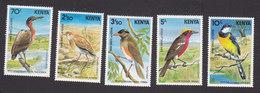 Kenya, Scott #288-292, Mint Hinged, Birds, Issued 1984 - Kenya (1963-...)