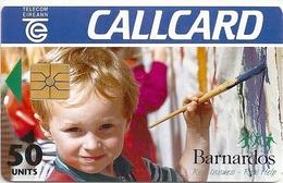 Ireland - Eircom - Barnardos - 50Units, 07.1995, 50.000ex, Used - Ireland