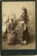 PHOTO  ANCIENNE  10X14 SUR  CARTON : DIAMANTIS  &  SINTICH     0  CORFOU - Photos