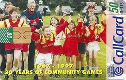 Ireland - Eircom - 30 Years Of Community Games - 50Units, 07.1997, 50.000ex, Used - Ireland