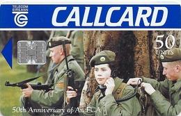 Ireland - Eircom - An F.C.A. (50th. Anniversary An FCA) - 50Units, 06.1996, 50.000ex, Used - Ireland