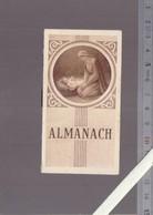 Petit Almanach Calendrier  1946 - La Vierge Et L'Enfant - Religion Catholique   - 9.5 X 5.5 Cm - Calendars