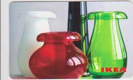 GIFT CARD - SWITZERLAND - IKEA - 2009 - VASES - DE - Gift Cards