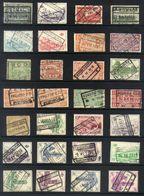 Y39 - Belgium - Railway Parcel Stamps - Used Lot - Bahnwesen