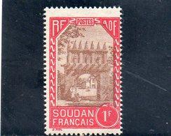 SOUDAN 1931-8 ** - Soudan (1894-1902)