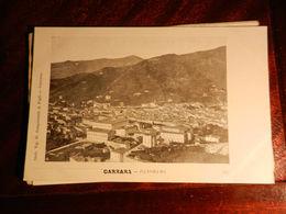 15936) CARRARA PANORAMA NON VIAGGIATA MA 1902 CIRCA Ed SANGUINETTI - Carrara