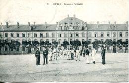 N°61228 -cpa Rouen -caserne Pélissier- - Kazerne