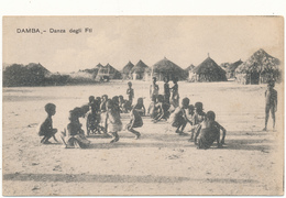 ERYTHREE, DAMBA - Danza Degli Fti - P. Beltrami, Asmara - Erythrée