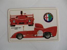 Alfa Romeo 33TT Portugal Portuguese Pocket Calendar 1986 - Calendars