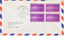 U.S.  GOLDEN  GATE  EXPO. COVER  C.d. USED  ONLY  ONE  DAY - United States
