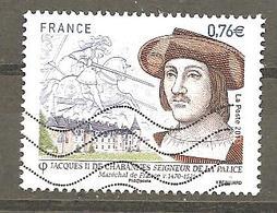 FRANCE 2015 Y T N°4955 Oblitéré - Used Stamps
