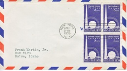U.S.  NEW  YORK'S  WORLD'S  FAIR   EXPO.  COVER - Covers & Documents