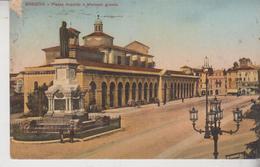 Brescia  Piazza Arnaldo E Mercato Grande 1918  G/t - Brescia