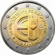 Eslováquia 2euro Cc -  10º Aniversario Da Entrada De  República Eslovaca Na Unión EuropeIa  - 2014  UNC - Slovaquie