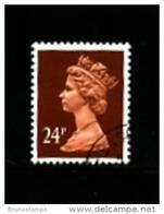 GREAT BRITAIN - 1992  MACHIN  24p.  PCP  LITHO  FINE USED  SG X1017 - Machins