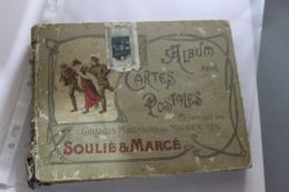 """Album De Cartes Postales Offert Par Les Magasins """"Soulié Et Marcé"""" à Toulon - Materiali"""