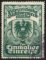 Visa Consular Stamp Austria Sichtvermerk Marke - Einmaligen Durchreise - Revenue Tax Stamp - Steuermarken