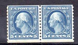EE.UU.  AÑO 1912-1915.  Sc 496  (MNH) X 2 - Estados Unidos