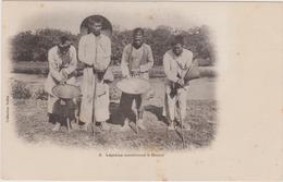 Cpa Lépreux Mendiant A Hanoi (tonkin),asie,viet Nam,rare,asie,asia,viet Nam - Viêt-Nam