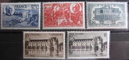 LOT R1752/139 - 1944 - N°607 à 611 NEUFS** ☛☛☛ PRIX DE DEPART A MOINS DE 15% DE LA VALEUR CATALOGUE - France