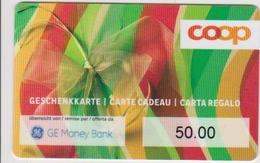 GIFT CARD - SWITZERLAND - COOP 244 - GE MONEY BANK - Gift Cards