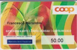 GIFT CARD - SWITZERLAND - COOP 245 - MERCEDES BENZ FINANCIAL - Gift Cards