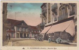 Cpa ,sarrebourg, Moselle, La Nouvelle Gare ,avec Voitures  D'époques,rare,edition Cantine Muller,rare - Sarrebourg