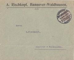 DR Ortsbrief EF Minr.84I SST Hannover 12.9.11 Nordwestdeutsche BM-Ausstellung - Briefe U. Dokumente
