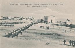 ZZ418 -- CRETE - Carte-Vue Neuve Ed. Behaeddin 177 - Parade Des Troupes Anglaises Pour S.E. Zaimis - Crète